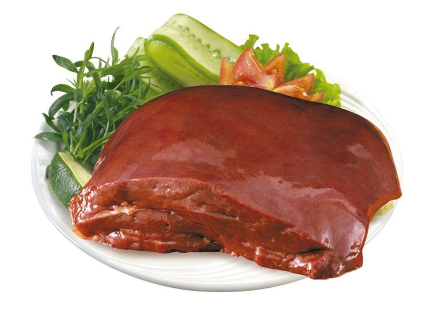 Богата витамином А и говяжья печень