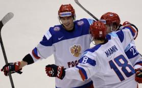 Хоккеисты сборной России разгромили команду Швейцарии в матче МЧМ