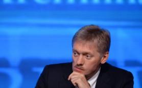 Песков назвал политической константой ожидание отставки правительства