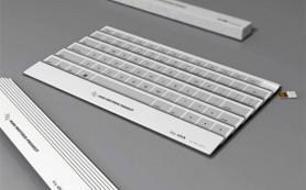 В США представили защищенную клавиатуру, вырабатывающую электричество