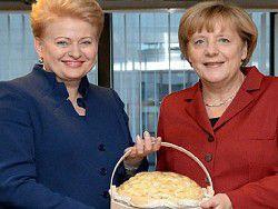 Мир в Европе зависит от того, является ли Меркель «Грибаускайте»