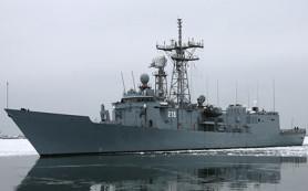 Два польских военных корабля столкнулись в Балтийском море