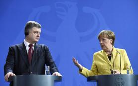 Меркель заявила о стремлении Германии найти мирное решение конфликта на Украине