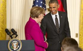 Обама отказался от поставок оружия Киеву после встречи с Меркель