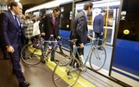 Испания: Метро Мадрида разрешит провозить велосипеды