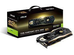 Юбилейная видеокарта ASUS GTX 980 Gold Edition