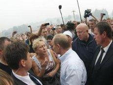 Путин встретился с жительницей Хакасии, просившей о помощи после пожаров