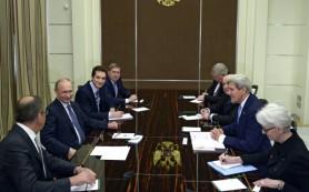 Слуцкий: визит Керри в Сочи показал, что Запад готов к диалогу с РФ