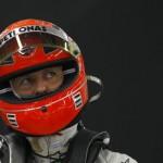 Вес автогонщика Михаэля Шумахера уменьшился до 45 килограмм