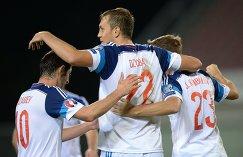 Футболисты сборной России разгромили команду Лихтенштейна