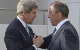 Сергей Лавров и Джон Керри обсудили сирийский кризис