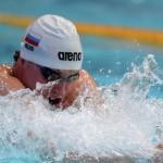 Пловец Олег Костин стал 3-м на этапе КМ в Токио на дистанции 200 м брассом