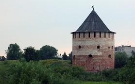 В Великом Новгороде реставрируют Алексеевскую башню