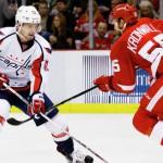 """Шайба Кузнецова в овертайме принесла """"Вашингтону"""" победу над """"Детройтом"""" в матче НХЛ"""