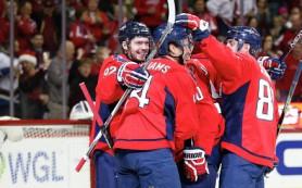 Шайбы Овечкина, Кузнецова и Орлова помогли «Вашингтону» победить «Виннипег» в НХЛ