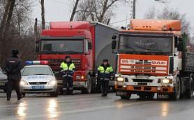 СМИ сообщили о задержании в Калмыкии колонны идущих на Москву дальнобойщиков