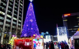 Южная Корея приготовилась к встрече Нового года