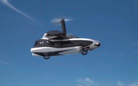 Создан первый в мире летающий автомобиль