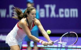 Касаткина поднялась на 19-е место в гонке чемпионов WTA