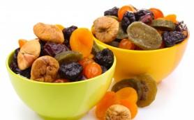 Регулярное употребление сухофруктов благотворно влияет на здоровье