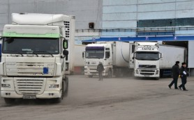 В России оказались заблокированы почти 200 украинских фур