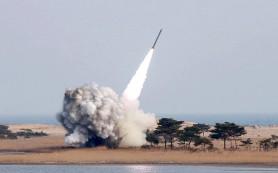 КНДР провела ракетные стрельбы