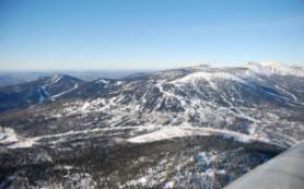 Россия: Шерегеш начал оборудовать подъёмником гору Утуя