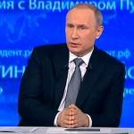 Владимир Путин: Мир в Сирии наступит в результате политического процесса