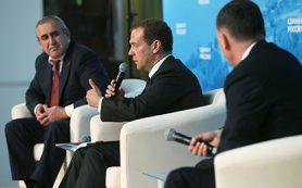 Медведев призвал изменить образ бизнесмена в глазах обывателей