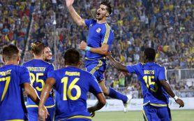 ФК «Ростов» сыграл вничью с «Андерлехтом» в своем первом в истории матче в Лиге чемпионов
