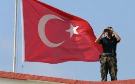 Турция открыла огонь по территории Сирии