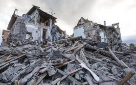 Число жертв землетрясения в Италии достигло 247 человек