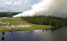 NASA успешно испытало ракетный двигатель для миссии на Марс