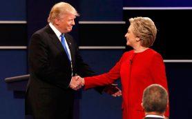 Телезрители присудили Клинтон победу в первых дебатах с Трампом