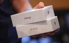 Таможенники задержали первую партию контрабандных iPhone 7