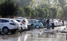 Возле здания ТПП в Анталье прогремел мощный взрыв