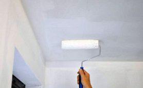 Приготовление грунтовки для потолка