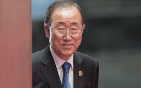 Обнародованы подробности скандала о «взяточничестве Пан Ги Муна»