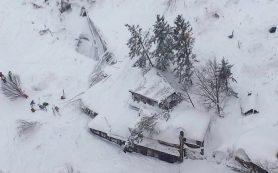 В результате схода лавины в Италии погибли 30 постояльцев отеля