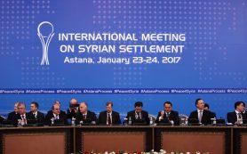 Страны-гаранты перемирия в Сирии призвали к началу переговоров