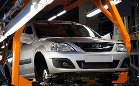Экспорт Lada упал почти вполовину