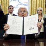 Трамп: США выглядят слабаками из-за блокировки иммиграционного указа