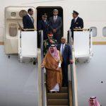 Король Саудовской Аравии прибыл в Токио на 10 самолетах