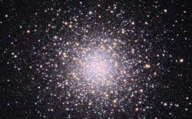 NASA опубликовало снимок звездного кластера