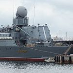 Российский крейсер пришел в Корею раньше американцев