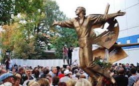 Памятник Высоцкому в Одессе