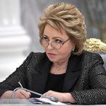 Матвиенко заявила об отсутствии в России антиукраинских настроений