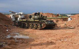 В МО уточнили цель сирийских военных при ударе по Хан Шейхуну