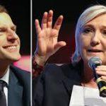 Во Франции прошли теледебаты между Ле Пен и Макроном