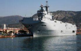 Севший на мель французский корабль сорвал международные учения